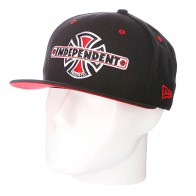 Бейсболка New Era Independent Vintage NewEra Black
