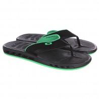 Шлепанцы Oakley Hydrofree Ellipse Tee Black/Green