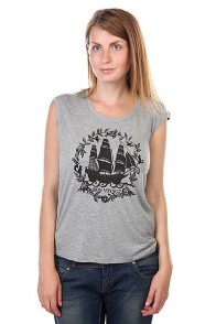 Футболка женская Element Bon Voyage Grey Heather