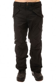 Штаны сноубордические Burton Filson X Hellbrk Pt Black Oil Cloth