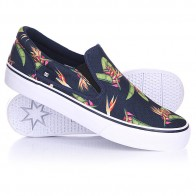 Слипоны DC Trase Slip On SP Navy Monogram