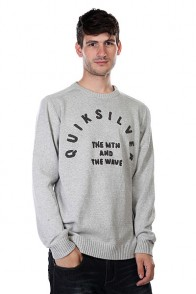 Свитер Quiksilver Bowled Out Light Grey Heather