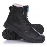 Ботинки зимние Palladium Pampa Sport Cuff Wps Black