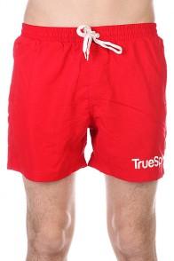 Шорты пляжные TrueSpin Swimming Shorts Splash One Red