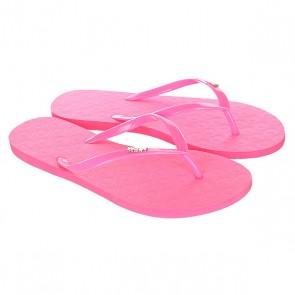 Вьетнамки женские Roxy Viva Ii Hot Pink, 1143714,  Roxy, цвет розовый
