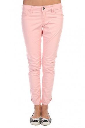 Джинсы узкие женские Roxy Funky Fresh Col J Bloom Pink, 1114079,  Roxy, цвет розовый