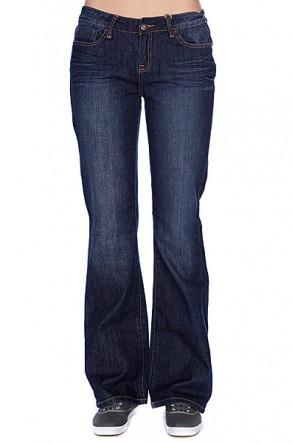 Джинсы прямые женские Zoo York Bootleg Fit Denim Mad Wash, 1011605,  Zoo York, цвет синий