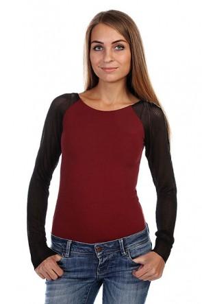 Боди женское Insight Getting Meshy Westwood, 1126260,  Insight, цвет бордовый, черный