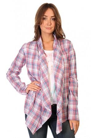 Рубашка в клетку женская Zoo York Lucy Top White, 1129586,  Zoo York, цвет мультиколор