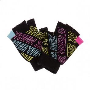 Перчатки женские Zoo York It S Electric Black, 1129623,  Zoo York, цвет мультиколор, черный