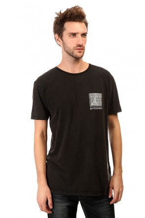 Футболка Quiksilver Checker Pasts Tees Black, 1140833,  Quiksilver, цвет серый