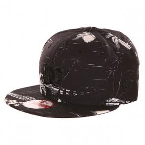 Бейсболка с прямым козырьком DC Realto Cruiser Island Black, 1140958,  DC Shoes, цвет черный