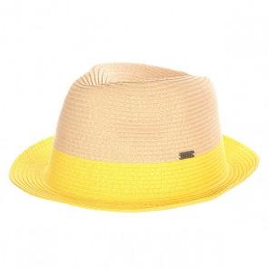 Шляпа женская Roxy Monoi Citrus, 1140968,  Roxy, цвет бежевый, желтый