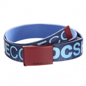 Ремень DC Chinook Tx Rose Blue Iris Tonal, 1140982,  DC Shoes, цвет синий