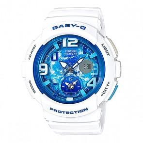 Электронные часы детские Casio Baby-g Bga-190gl-7b White, 1153584,  Casio, цвет белый