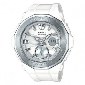 Электронные часы детские Casio Baby-g Bga-220-7a White, 1153586,  Casio, цвет белый