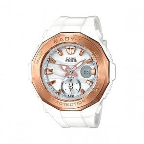 Электронные часы детские Casio Baby-g Bga-220g-7a White, 1153587,  Casio, цвет белый