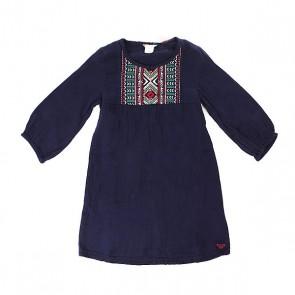 Платье детское Roxy Mojos Blue Print, 1157734,  Roxy, цвет синий