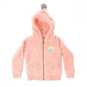 Толстовка утепленная детская Roxy Hangig K Plfl Peach Amber, 1157746,  Roxy, цвет розовый