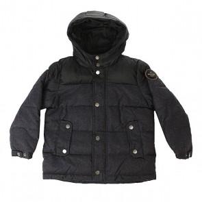 Куртка зимняя детская Quiksilver Woolmore Dark Heather Grey, 1157751,  Quiksilver, цвет серый, черный