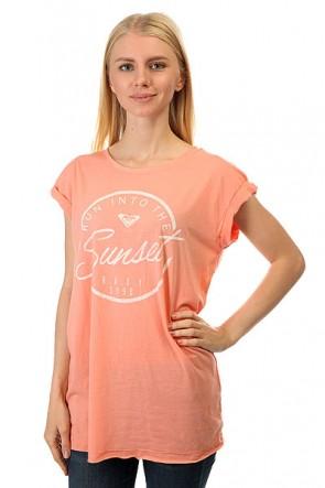 Футболка женская Roxy Take Peach Amber, 1157762,  Roxy, цвет розовый