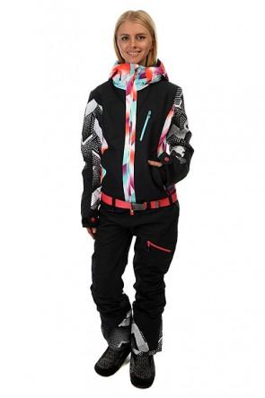 Комбинезон женский Roxy Impres Suit Pop True Black, 1157792,  Roxy, цвет мультиколор, черный
