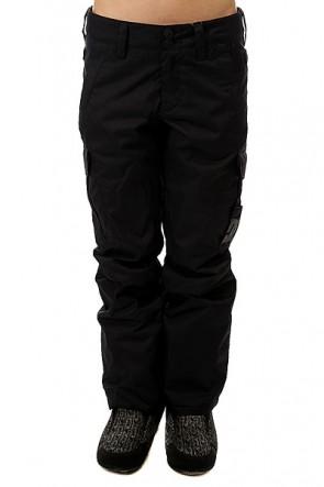 Штаны сноубордические женские DC Ace Black, 1157799,  DC Shoes, цвет черный