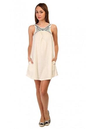 Платье женское Roxy Come Ktdr Sand Piper, 1144037,  Roxy, цвет бежевый