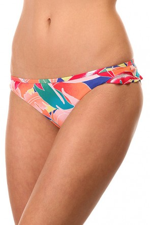 Плавки женские Roxy Ruffle 70s Tropical Monsoon Com, 1144075,  Roxy, цвет мультиколор