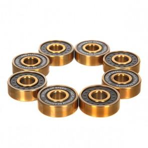 Подшипники для скейтборда FKD Black Lights ABEC 7 Platinum, 1151358,  FKD, цвет желтый, черный