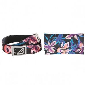 Комплект ремень + кошелек женский Roxy Вместе Навсегда Multi, 1155940,  Roxy, цвет мультиколор