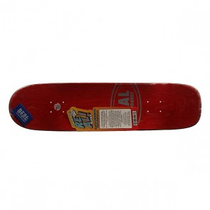 Дека для скейтборда для скейтборда Real Wair Buttery Slick 31.65 x 8.12 (20.6 см), 1159436,  Real, цвет бежевый, синий