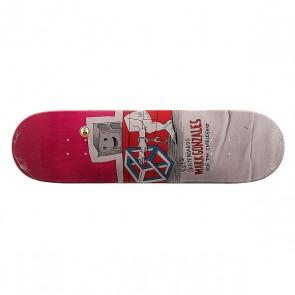 Дека для скейтборда для скейтборда Krooked Gonz Blockhead 32.56 x 8.62 (21.9 см), 1159442,  Krooked, цвет мультиколор
