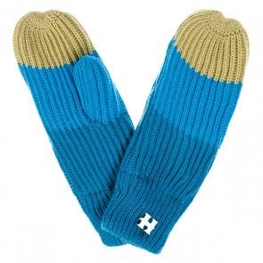 Варежки женские Harrison Beatrice Gloves Blue/Turq/Lime, 1077888,  Harrison, цвет голубой