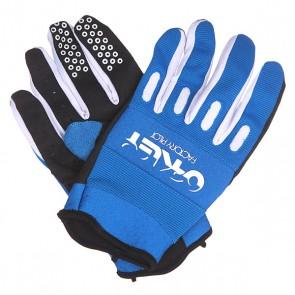 Перчатки Oakley Factory Glove Blue Line, 1136355,  Oakley, цвет белый, синий