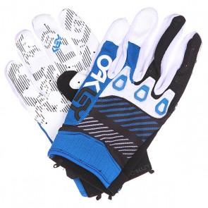 Перчатки Oakley Automatic Glove Blue, 1136361,  Oakley, цвет белый, синий, черный