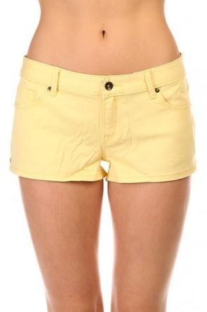 Шорты джинсовые женские Roxy Forever Colors Dnst Golden Haze, 1141219,  Roxy, цвет желтый