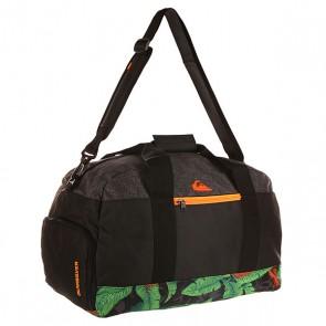 Сумка спортивная Quiksilver Medium Shelter Lugg Remix Black, 1141266,  Quiksilver, цвет зеленый, черный