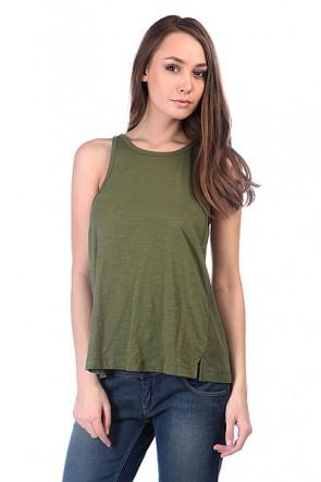 Майка женская Roxy Rockaway J Cypress, 1111559,  Roxy, цвет зеленый