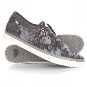 Кеды кроссовки низкие Quiksilver Shorebreak Deluxe Black/White/Grey, 1144733,  Quiksilver, цвет серый