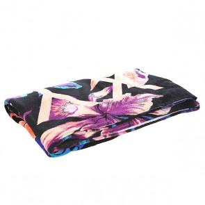 Полотенце женское Roxy Hazy True Black Maui Ligh, 1144755,  Roxy, цвет мультиколор, черный