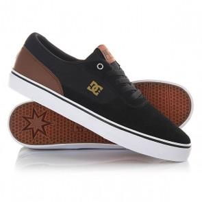 Кеды кроссовки низкие DC Switch Black/Brown/White, 1146339,  DC Shoes, цвет черный