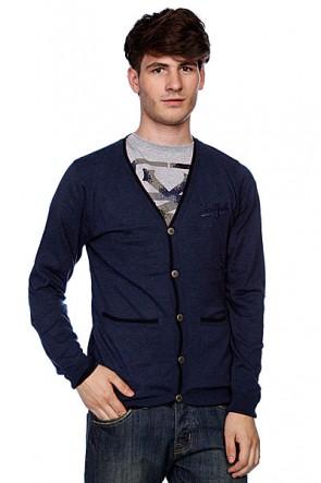 Кардиган Zoo York Workwear Cardigan Ash Blue Heather, 1011220,  Zoo York, цвет синий