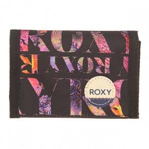 Кошелек женский Roxy Small Wllt Ax Small Corawaii Black, 1155981,  Roxy, цвет мультиколор, черный