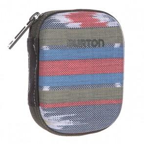 Пенал женский Burton The Kit Ikat Dot, 1136371,  Burton, цвет зеленый, коричневый