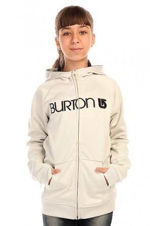 Толстовка сноубордическая детская Burton Scoop Hdd Vanilla Heather, 1136401,  Burton, цвет серый