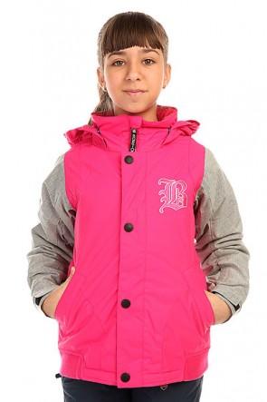 Куртка детская Burton Dulce Jacket Hot Streak, 1136403,  Burton, цвет розовый, серый