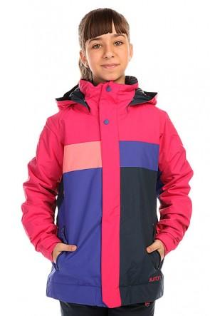 Куртка детская Burton Piper Jacket Marilyn/Sweetp Cmb, 1136407,  Burton, цвет розовый, фиолетовый, черный