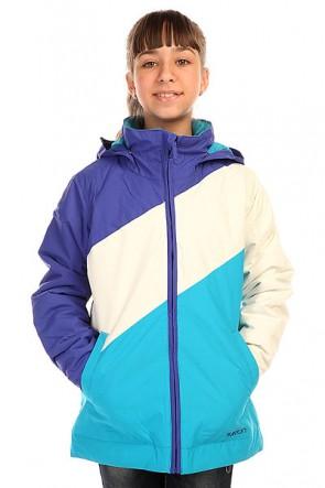 Куртка детская Burton Hart Jacket Sorcerer/White/Antidt, 1136411,  Burton, цвет белый, голубой, синий