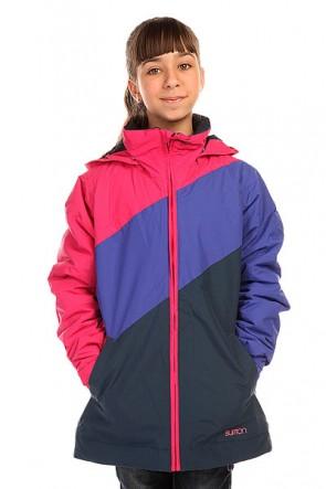 Куртка детская Burton Hart Jacket Submrn/Sorcr/Marln, 1136412,  Burton, цвет розовый, синий
